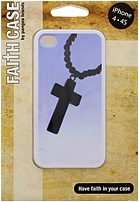 Pangea 847504055385 ROSE01 Faith Case for iPhone 4 4S   Rosary