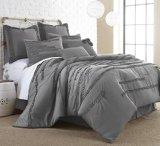 Collette 8-piece Embellished Comforter set Platinum King