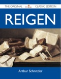 Finally available, a high quality book of the original classic edition of Reigen.This is a new and freshly published edition of this culturally important work by Arthur Schnitzler, which is now, at last, again available to you.Enjoy this classic work today