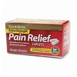 Good Sense Extra Strength Acetaminophen Caplets 500mg 100 ea