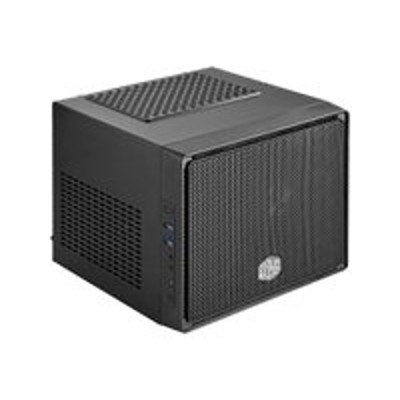 Cooler Master Rc-110-kkn2 Elite 110 - Ultra Small Form Factor - Mini Itx (atx / Ps/2) - Midnight Black - Usb/audio