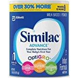 Similac Advance Stage 1 Baby Formula - Powder- 1.93 lb