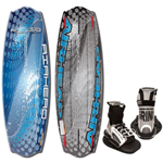 Airhead Ahw-2026 Fluid Wakeboard With Grind Bindings