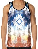 iHeartRaves Ancient Visions All Over Print Rave Tank (Medium)
