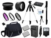 Canon Eos 70d Dslr Digital Camera Professional Battery Accessories Bundle Kit