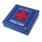 Industrial First Aid Kit For 50 People, 225 Pieces, White Metal Case