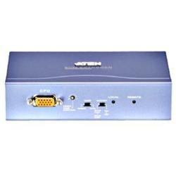 Aten CE252 PS/2 KVM Console Extender - 1 Computer(s) - 1 Local User(s) - HD DB-15 Monitor, mini-DIN Mouse, mini-DIN Keyboard