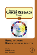 Hsp90 in Cancer: Beyond the Usual Suspects, the latest volume in the Advances in Cancer Research series, focuses on the multifunctional molecular chaperone Hsp90 which regulates the post-translational stability and function of a broad repertoire of client proteins and discusses some of the lesser-known aspects of how Hsp90 and its related family members enable oncogenic transformation and malignant progression.Focuses on the multifunctional molecular chaperone Hsp90 which regulates the post-translational stability and function of a broad repertoire of client proteinsHighlights the rapidly evolving understanding of the fundamental roles of Hsp90 in cancer biology Discusses the lesser-known aspects of how Hsp90 and its related family members enable oncogenic transformation and malignant progression