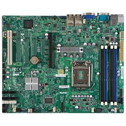 Supermicro X9SCI-LN4 Desktop Motherboard - Intel C204 Chipset - Socket H2 LGA-1155 - ATX - 1 x Processor Support - 32 GB DDR3 SDRAM Maximum RAM - Serial ATA/300, Serial ATA/600 RAID Supported Controller - CPU Dependent Video - 1 x PCIe x16 Slot