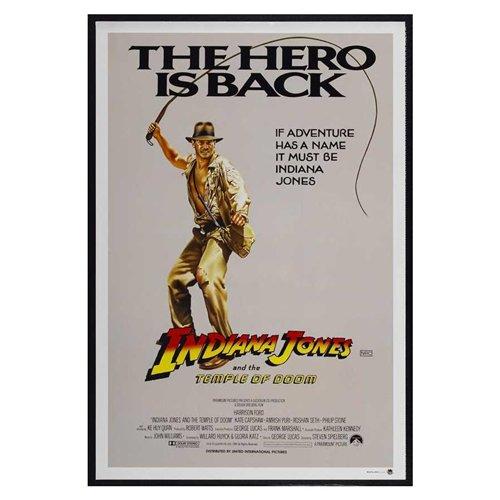 Indiana Jones and the Temple of Doom Poster Movie Australian (27 x 40 Inches - 69cm x 102cm) (1984)