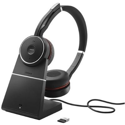Jabra 7599-838-109 Evolve 75 Uc Stereo - Headset - On-ear - Bluetooth - Wireless - Active Noise Canceling - Usb