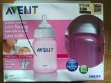 Avent 3-Pack Special Edition Extra Soft Bottles - pink, one size