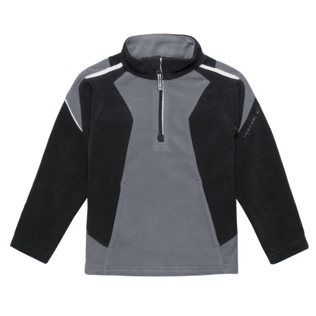 Ruckus Fleece Shirt - Zip Neck, Long Sleeve (for Little Boys)