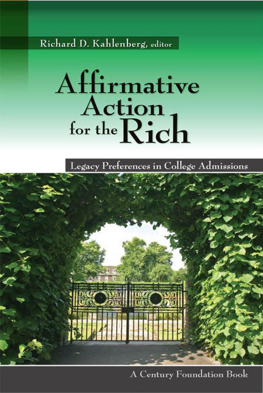 Affirmative Action For The Rich (ebook)