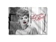 Lucille Ball 1950's Comedian Actress Icon City Photo Pillow Case