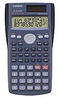 Casio Fx-300ms Scientific Calculator - 10 Digits X 2 Lines Display - Solar Panel