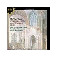 Matthew Locke - Anthems, Motets & Ceremonial Music (Parley Of Instruments) (Music CD)