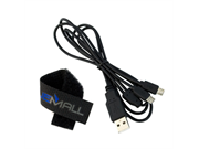 Gtmax Usb Cable To Dual Micro-usb Sync/charge Splitter Data Cable For Asus Nexus Google 7 Inch Android Tablet, Samsung Galaxy Note 2 N7100 And Other Android Tab
