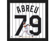 Jose Abreu Framed Chicago White Sox 20x20 Jersey Photo