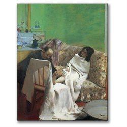 Edgar Degas 'The Pedicure 1873' Canvas Art