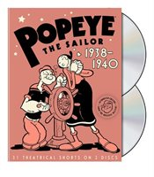 Popeye The Sailor:  1938-1940 - Volume Two