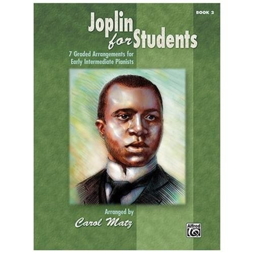 Alfred 00-35312 Joplin for Students- Book 2 - Music Book