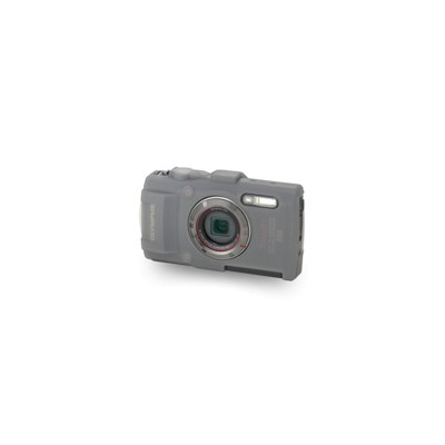 Olympus V600082xw000 Csch 122 - Case For Camera - Silicone - Half Translucent - For Stylus Tough Tg-3  Tg-4  Tough Tg-3