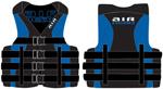 Airhead 1001405bbl Neo / Nylon Hybrid Life Vest - Large / Xl Blue