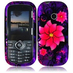 Divine Flower Hard Case Cover for LG Cosmos 3 VN251S   Accessory Kit