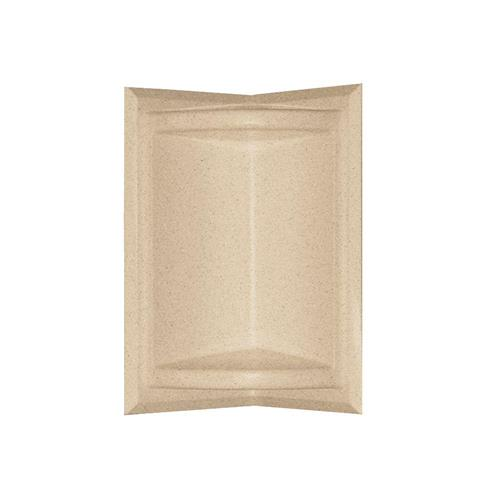 Swanstone Ss07211.040 Corner-mount Solid Surface Soap Dish In Bermuda Sand
