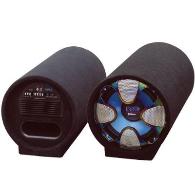 Pyle Pltab10 10'' 500 Watt Amplified Subwoofer Tube