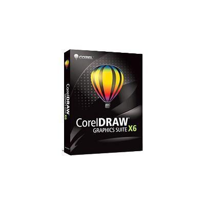 DRAW Graphics Suite X6 - complete package