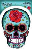 Sunny Buick - Rose Sugar Skull - Sticker / Decal