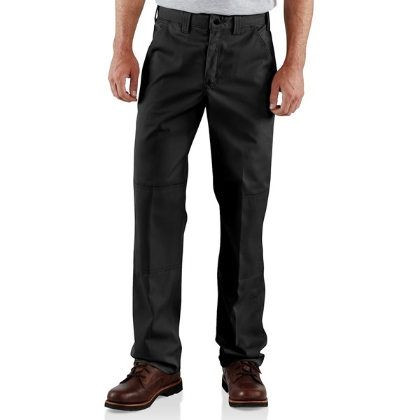 Carhartt Twill Double-Knee Work Pants (For Men)