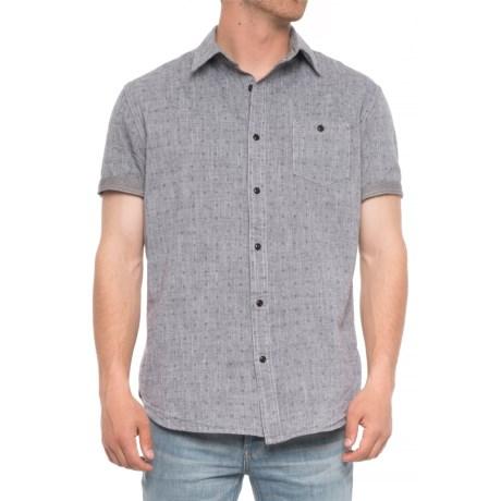 Dot Print Shirt - Short (for Men)