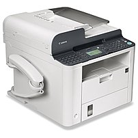 The Canon FAXPHONE 6356B002AA L190 Monochrome Laser Multi Function Printer offers quality results whether you are faxing, printing or copying