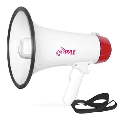 Pyle Pmp40 Pmp40 Professional Megaphone / Bullhorn With Siren And Handheld Mic