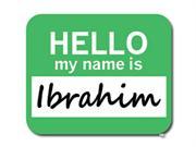 Ibrahim Hello My Name Is Mousepad Mouse Pad