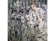 Posterazzi Sal2621865 Fleur De Lis Ca 1895-1900 Robert Reid 1862-1929 American Oil On Canvas Metropolitan Museum Of Art New York City - 18 X 24 In.