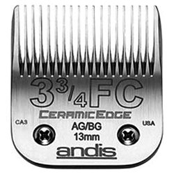 ANDIS Ceramic Edge One Set Blade Size 3-3/4 (1/2 inch/13mm) (Model:64435)