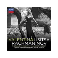 Rachmaninov: The Piano Concertos; Rhapsody on a Theme of Paganini (Music CD)