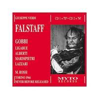 GIUSEPPE VERDI - Falstaff [Torino 1966] (Rossi, Gobbi)