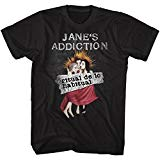 Janes Addiction Ritual De Lo Habitual Black Adult T-Shirt Tee