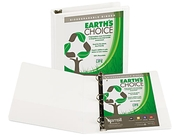 Samsill 16957 Earth's Choice Biodegradable Angle-D Ring View Binder, 1-1/2