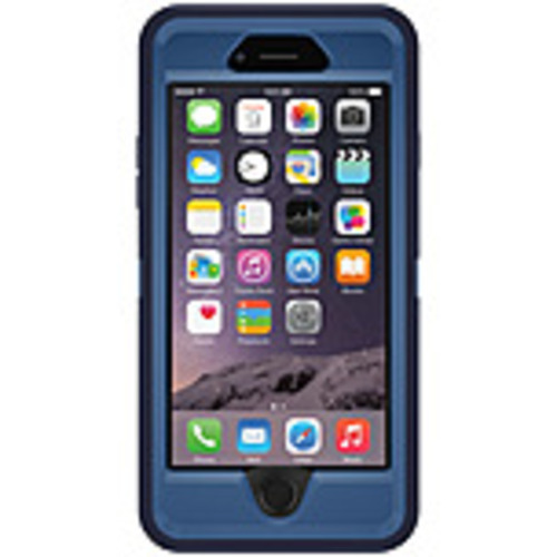 Otterbox Defender Carrying Case (holster) For Iphone 6s, Iphone 6 - Indigo Harbor - Drop Resistant Interior, Impact Absorbing Interior, Lint Resistant