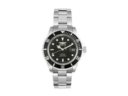 Invicta 8926 - Unisex Watch With Stainless Steel Case And Black Dial
