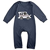 BBkid Mail Truck Mailman Funny Baby Bodysuit Clothes For Boys And Girls Newborn Baby