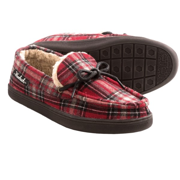 Woolrich Lewisburg Moccasin Slippers (For Men)