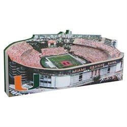 Miami Hurricanes - Orange Bowl Stadium Lighted Replica
