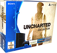 Sony 3001362 Uncharted: The Nathan Drake Collection Ps4 Game Console Bundle - Game Pad Supported - Wireless - Black - Ati Radeon - Blu-ray Disc Player - 500 Gb Hdd - Gigabit Ethernet - Bluetooth - Wireless Lan - Hdmi - Usb - Octa-core (8 Core)